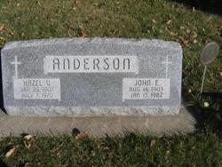 Hazel Violet Marie <i>Johnson</i> Anderson