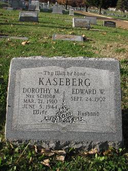 Dorothy M. <i>Schoor</i> Kaseberg