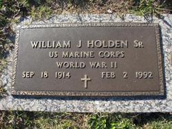 William James Holden, Sr