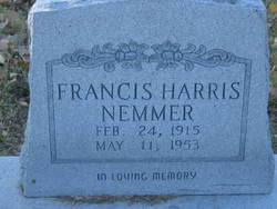 Frances Gladys <i>Harris</i> Nemmer