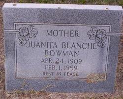 Juanita Blanche <i>Lancaster</i> Bowman