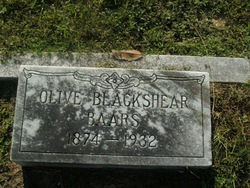 Olive <i>Blackshear</i> Baars
