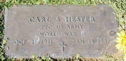 Carl S Hester