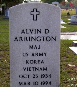 Alvin D Arrington