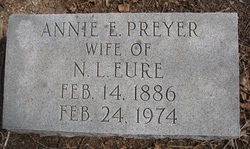 Annie E. <i>Preyer</i> Eure