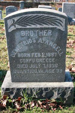 Demetrios A. James or Jimmie Angell