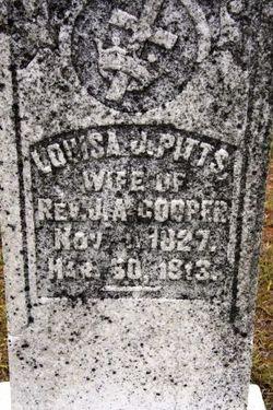 Louisa Jane <i>Pitts</i> Cooper