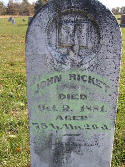John Richard Ricket, Jr