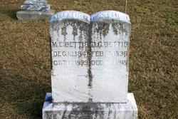 Margaret Elizabeth <i>Marsh</i> Bettis