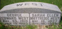 Sarah Ellen <i>Whittredge</i> West