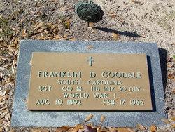 Franklin DeSaussure Goodale, Sr