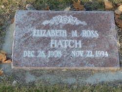 Elizabeth <i>Murdoch</i> Hatch