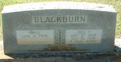 Ozell <i>Franklin</i> Blackburn
