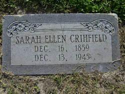 Sarah Ellen <i>McEachern</i> Crihfield