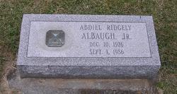 Abdiel Ridgely Albaugh, Jr