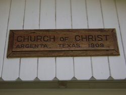Argenta Church of Christ Cemetery