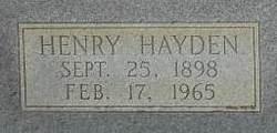 Henry Hayden Hollis