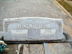 Egon Kohlenberg, Sr