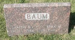 Martin D Baum