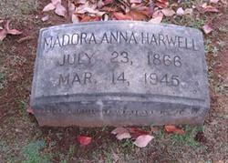 Madora Anna Dora <i>Harwell</i> Adkins