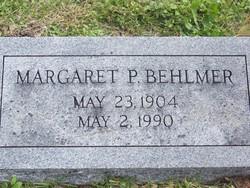 Margaret P Behlmer