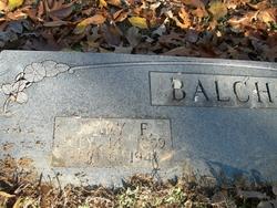 Mary F. Balch