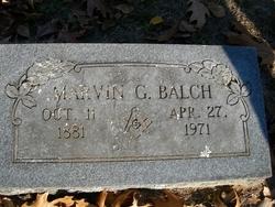 Marvin G. Balch