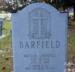 Michael Lawrence Barfield