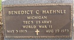 Benedict C Haehnle