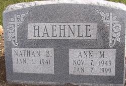 Ann Margaret <i>Mathein</i> Haehnle