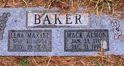 Mack Almon Baker
