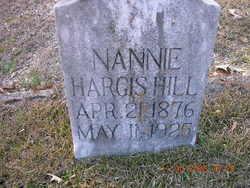 Nannie Villa <i>Hargis</i> Hill