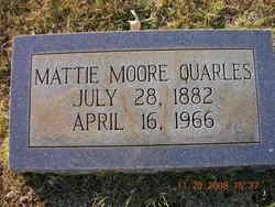 Mattie Moore Quarles