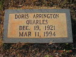 Doris Arrington Quarles