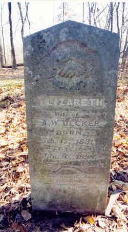 Elizabeth Jane <i>Dale</i> Decker