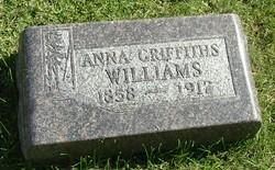 Anna <i>Griffiths</i> Williams