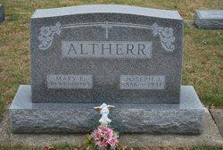Mary E. <i>Blubaugh</i> Altherr