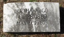 Bertha Argo