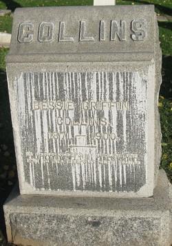 Margaret Elizabeth Bessie <i>Griffin</i> Collins