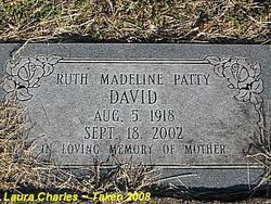 Ruth Madeline <i>Patty</i> David