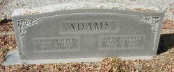 Callie Ora <i>Woolley</i> Adams