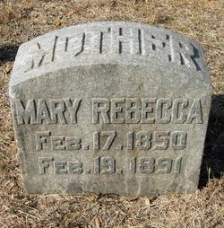 Mary Rebecca <i>Burleson</i> Acklen