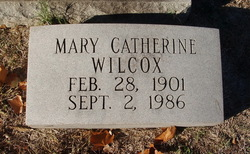 Mary Catherine Wilcox