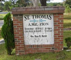 Saint Thomas AME Zion Church Cemetery