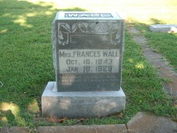 Frances <i>Steele</i> Wall