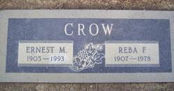 Ernest Milton Ernie Crow