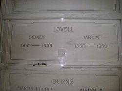 Sidney Lovell