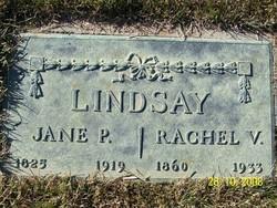 Rachel Virginia Lindsay