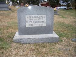 Lafayette D Snodgrass