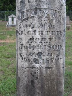 Mary Jane <i>Goolsby</i> Carter